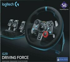 Logitech G29 Driving Force Racing Wheel Pedals  (PS4 / PS3 &PC) UK