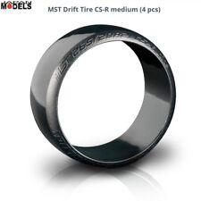 DRIFT TIRE CS-R Medium (4 Pcs) Gold - Gomme drift mescola media 1/10 MST 101025