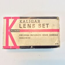 Vintage Kaligar Lens Set Kodak Instamatic Movie Cameras M2/m4