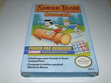 SUPER TEAM Games by NINTENDO per NES (new old stock) raro per collezionisti!