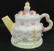 Novelty Teapot - Ice Cream Cake - Thames Hospice