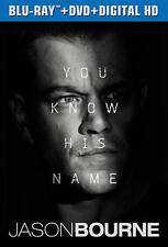 Jason Bourne Blu-Ray (opened, unwatched, bluray only)