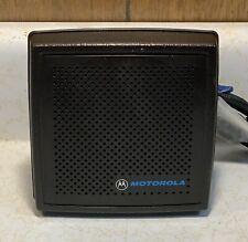 Motorola Hsn6001 Mobile External 13 Watt Speaker Gm300 Xtl1500 Xtl2500 Xtl5000
