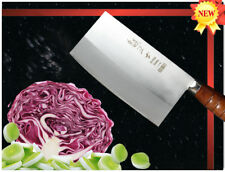 Handmade Japanese VG10 Steel Cleaver 7 inch Vegetable Chopping Knife 1.6mm Thick