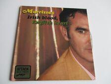 Irish Blood/ English Heart CD Single by Morrissey 4 Tracks 2004 Attack Records