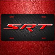 SRT Aluminum License Plate Tag Unique Design Very Cool