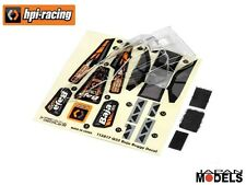Hpi Racing BAJA BUGGY BODY AND WING SET 1/32 114283 Nuovo New