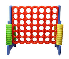 Get Out!™ Giant Four-In-A-Row Oversized Game – Jumbo Outdoor Large Yard Game
