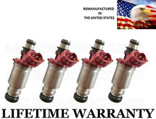 Genuine Denso Set Of 4 Fuel Injectors For Toyota Celica Corolla GEO Prizm 1.8L