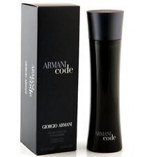 ARMANI CODE * Giorgio Armani 4.2 oz / 125 ml Eau de Toilette Men Cologne Spray
