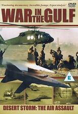 War in the Gulf Desert Storm The Air Assault DVD New and Sealed UK Release R2