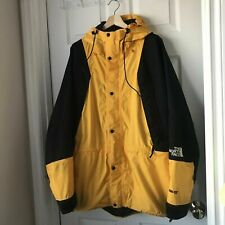 Vintage THE NORTH FACE MOUNTAIN LIGHT GORE-TEX Parka Jacket XXL 2XL Yellow