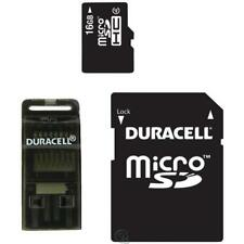 Duracell 3-in-1 Mobile Kit (16GB) MicroSDHC + USB Adapter + SD Adapter