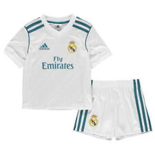 adidas Real Madrid Home Mini Kit 2017 2018 Boys SIZE 3-4 Years REF C1322