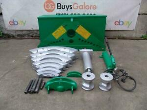 Greenlee 884 Hydraulic Bender 1 1/4 to 4 inch Rigid Pipe  Works Great  #2
