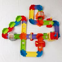 VTech Go Go Smart Wheels Chug & Go Railroad TESTED WORKS Missing Train