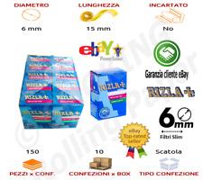 Box 3000 Filtri Rizla Slim 6mm Spugna Sigarette Filtro 20 Scatole DA150 Filtr