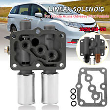 Transmission Dual Linear Shift Solenoid & Gasket For Honda Acura 28250-P6H-024