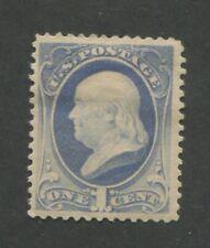 1881 United States Postage Stamp #206 Mint Hinged F/VF Original Gum
