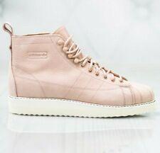 Adidas Originals Superstar Boot W Hi-Top Trainers B37816 Size Uk 5.5 RRP £119.95