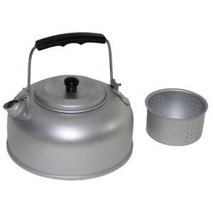Teekessel mit Teesieb Aluminium Camping Wasserkocher 950 ml mit Deckel Teekanne
