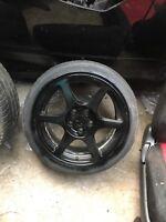 Mitsubishi Evo 7,8 And 9  Enki Alloy Wheel