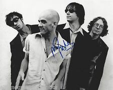 R.E.M GUITARIST MIKE MILLS SIGNED 8X10 PHOTO A W/COA REM BAND LOSING MY RELIGION