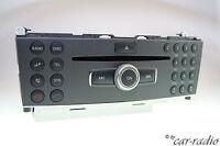 Original Mercedes W204 Radio MP3 ZB Bedienteil Headunit C-Klasse X204 GLK-Klasse