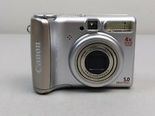 Canon PowerShot A530 Digital Camera In Box Compact Point and Shoot