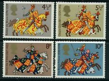 GB MNH STAMP SET 1974 Medieval Warriors SG 958-961 UMM