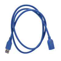 5FT 5Gbps 1.5m High Speed USB 3.0 A Male to Female Extension Cable Cord O