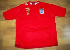Umbro England 2005/2008 Beckham away shirt (Size XXL)
