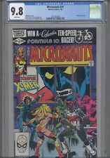 Micronauts #37 CGC 9.8 1982 Marvel X-Men App , Knightcrawler Cover: New Frame