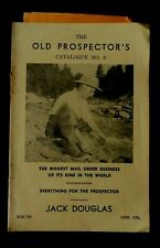 Old Prospector's Catalogue #9, Pan Gold, Treasure Hunt Supplies 1950-1960?, B1A