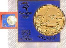 Archery Gilt 2000 Olympic Sports Badge