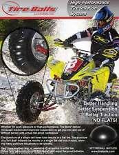 PNEU TIRE Balls quad ATV 27.9cm Large Pneu arrière KIT PRO 2106 Paquet de 12