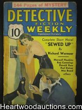 Detective Fiction Weekly Oct 26, 1935 Wild Torture Cvr