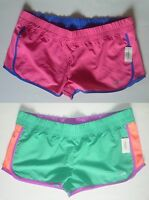 Womens AEROPOSTALE Contrast Mesh Active Running Shorts NWT #9616