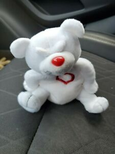Heartless Bear Valentines Meanies Beanie Plush