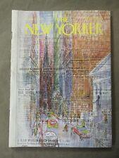 Vintage New Yorker Magazine September 11 1965 - Charles E Martin cover art