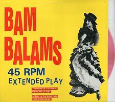 "BAM BALAMS 45 Rpm Extended Play - 4 track 1990 Aussie 12"" - Pink vinyl w/ insert"