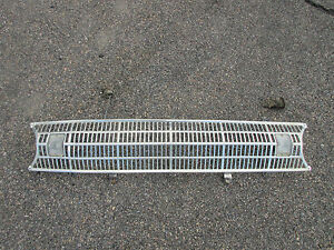 1961 FORD FALCON GRILL WITH SIGNAL ASSEMBLIES