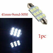 F998 41mm 5050 9SMD LED Universal Interior Map Dome Cargo Light Bulb White Lamp
