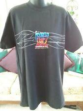 Colorado Avalanche Los Angeles Kings Frozen Fury Black T-Shirt Adult 1997