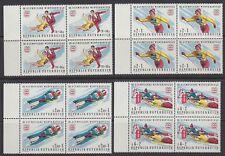 Österreich Austria 1975 ** Mi.1499/02 Olympische Spiele Winter Olympics [sr1517]