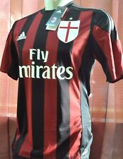 Milan shirt home 2015-2016, sz Small with Vynil *Adult (BNWT), Special LOOK!!!