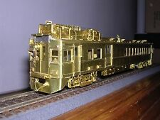 BRASS Overland #1944  Erie Motor Rail Car #5005-5015 Series Unp.  H.O.Gauge