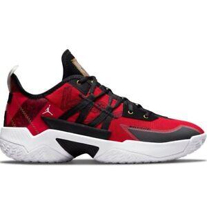 Air Jordan One Take II Black Red CW2457-607 Basketball Shoes Training Sneakers