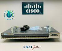 Cisco WS-C3750X-24S-E • 24-Port GE SFP IP Services Switch ■COMES DUAL AC POWER■