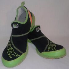 Size13 Mens Zoot Running Training Triathlon Athletic Shoe Lime Green/Black.